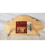 """12"""" Towel Holder, Solid Wood Wall Hung - Unfinished, bin#2 - $13.86"""