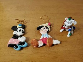 Vintage Disney Schmid Christmas Ornaments - $19.95