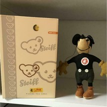 Steiff Japan Limited Mickey Mouse Old Type Disnew 1000 Limited Serial:0409 - $387.58