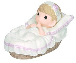Precious Moments, Baptized In His Name, Girl, Bisque Porcelain Figurine,... - $45.83