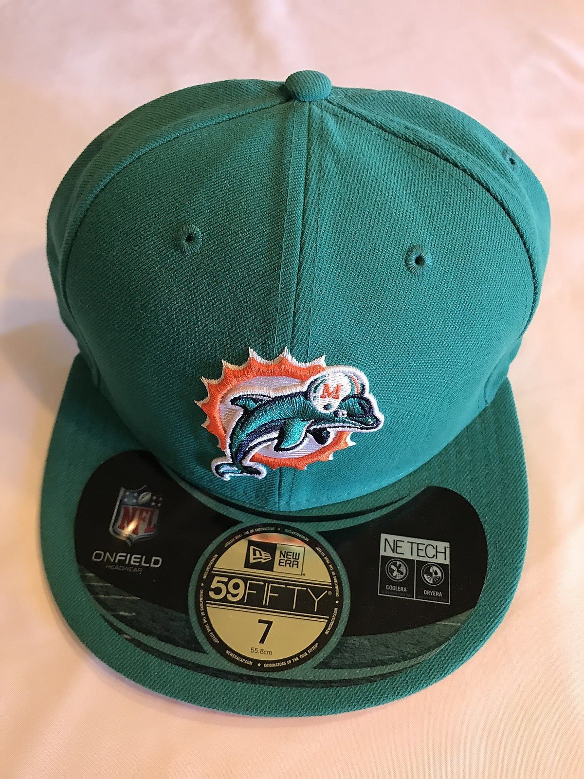 Team Miami Dolphins NFL New Era 59Fifty Aqua and 50 similar items 5c4ba7982