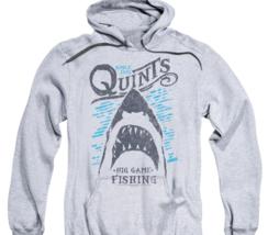 Jaws Movie Est.1975 Quints Big Game Fishing Shark Amity Island Hoodie UNI1175 image 2