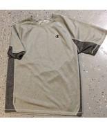 Gray Champion Men's T Shirt Size Large Vapor Fitness Performance VGC! - $9.49