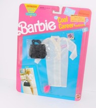 Vintage NRFP Barbie Cool Career Fashions Outfit Mattel Doctor Bag Coat 1... - $27.71