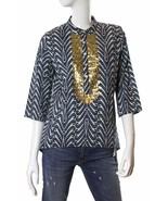 Figue Artisian Lulie Tunic Sequined Top $395 NWT - $175.12