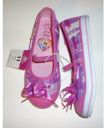 Disney Girls Toddlers Pink Princess Canvas Slip On Shoes Size-6,9,11  NEW - $9.74