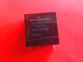 JC1a1bF-DC12V, 12VDC Relay, Mitsushita Brand New!! - $8.42