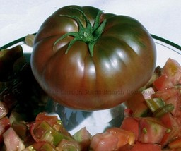 10 Pcs Russia Black Krim Tomato Seeds, Delicious Vegetable Seeds E3073 DG - $6.00