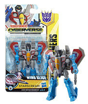 Transformers Cyberverse: Wing Slice Starscream Scout Class New in Package - $9.88