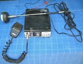 ***WORKING*** MIDSTATE CUB II MODEL MT-7500 23 CHANNEL CB RADIO SET, Vin... - $23.38