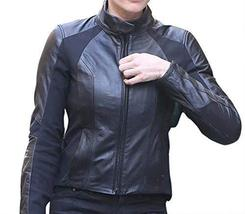 Womens Ilsa Faust Mission Impossible Fallout Rebecca Ferguson Leather Jacket image 1