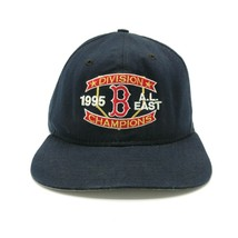 New Era Boston Red Sox Division Champions Snapback Vtg 1995 Dupont Visor... - $39.59