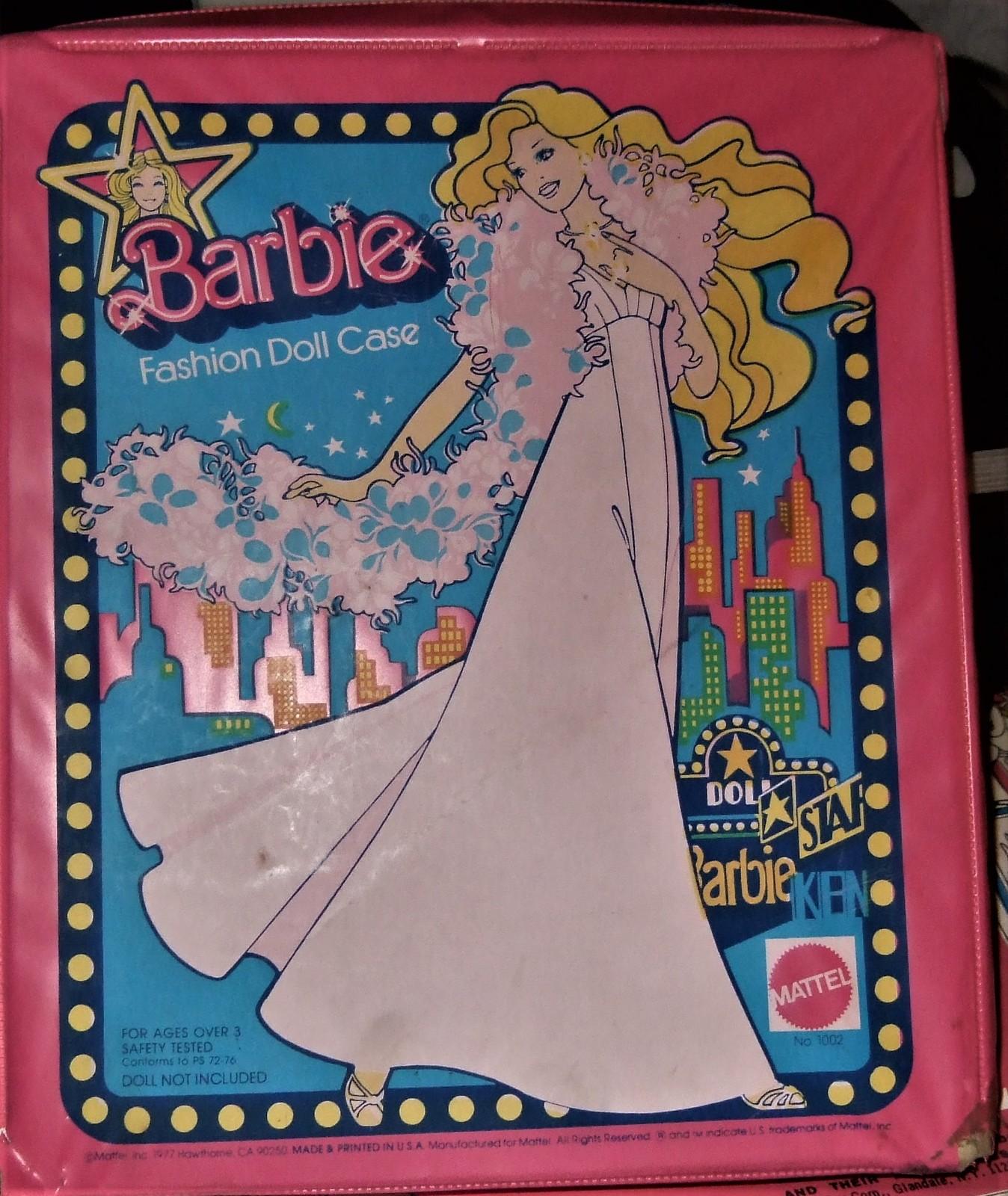 Barbie Star Fashion Case Vintage 1977  Barbie/ Ken