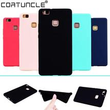 COATUNCLE TPU Soft Cases Huawei P9 lite Case Slim 360 Protect Candy Colo... - $8.65