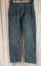 Tommy Hilfiger Boys Jeans Kids Straight Leg Denim Slim Pants Size 14 - $14.85