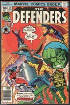 The Defenders #39 Marvel Comics 1976 very fine condition .30 cent issue Hulk - $4.00