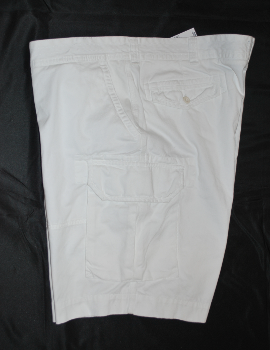 Polo Ralph Lauren Big & Tall White Gellar Fatigue Shorts Classic Polo Chino 50B