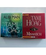 2 Tami Hoag Audibooks Mismatch BBC UAB 5 CDs & Alibi Man AB Random House... - $15.34