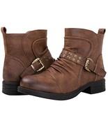 GLOBALWIN Women's 18YY31 Brown Fashion Boots 11M - $36.16