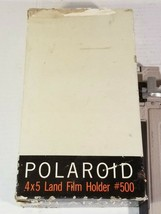 Antique Vintage Polaroid Land Camera 4x5 Film Holder #500 - $9.89