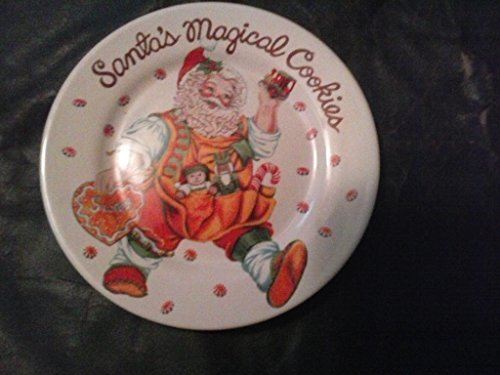Santa's Magical Cookies Collectible Plate - $14.84