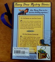Nancy Drew Pocketbook Mysteries purse and two flashlight edition books n... - $15.00
