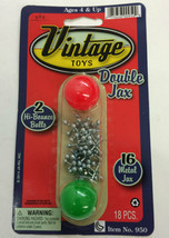 Double Jax Classic Toy with Two Balls Jacks Game - For Ages 3 and up - £2.90 GBP