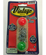 Double Jax Classic Toy with Two Balls Jacks Game - For Ages 3 and up - £2.84 GBP