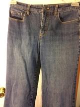 J EAN S Talbots Petite Fashion Pant Stretch Blue Jean Pants Size 2 Women Small S - $11.88