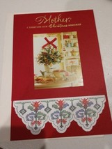 Vintage Unsigned Christmas Card For Mother - $2.00