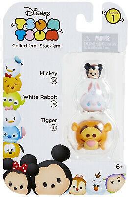 Disney Tsum Tsum 3 Pack: Mickey, White Rabbit, Tigger - Multi