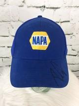 Napa Strap Back Hat Cap Blue Unconfirmed Signature - $14.84