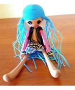 """Lalaloopsy Doll MGA 2014 Blue Hair Pegtails Nude 9"""" Tall - $18.80"""
