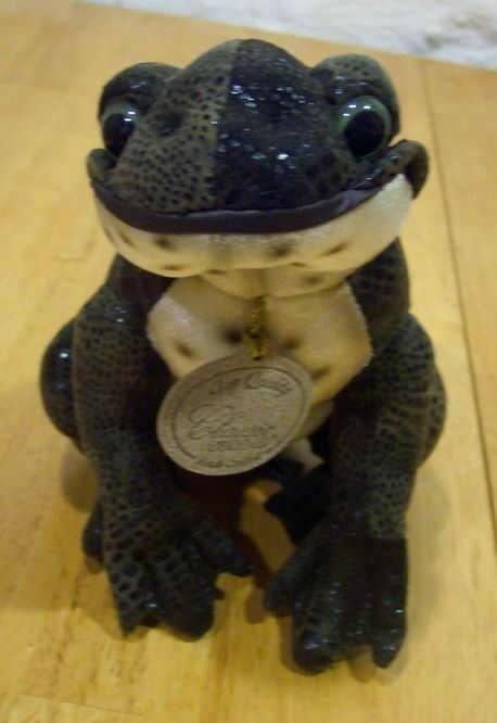 "Primary image for Classic Aurora REALISTIC FROG RATTLE 6"" Stuffed Animal"