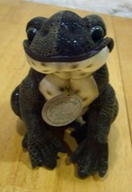 "Classic Aurora REALISTIC FROG RATTLE 6"" Stuffed Animal - $15.35"