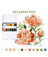 Prima Marketing Watercolor Confections Decadent Pies - $20.18