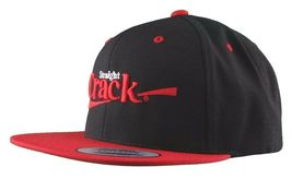 Dissizit Straight Crack Yupoong Wool Blend O/S Cap Black Red Embroidered Hat NWT image 10