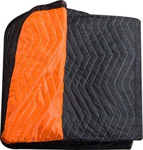"Burly moving blanket from Forearm Forklift-1 moving blanket ""Blaze"" oran... - $32.29"