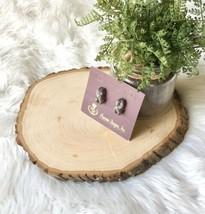 VTG Premier Design Weaver Earrings Silver & Gold Tone Post Jewelry Retir... - $18.81