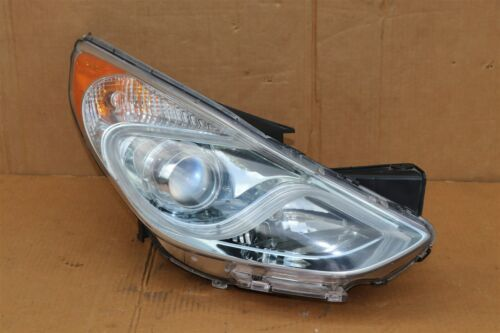 11-15 Hyundai Sonata Hybrid Projector Headlight Passenger Right RH - POLISHED