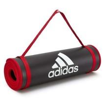 Adidas Exercise Gym Mat 10mm Thick Large Training Yoga Pilates Fitness W... - $82.32