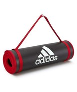 Adidas Exercise Gym Mat 10mm Thick Large Training Yoga Pilates Fitness W... - $82.32