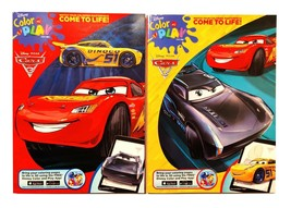 Disney Cars 3 Coloring & Activity Fun Book Color and Play 2 pack set - $9.95