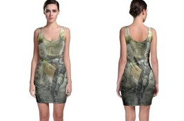 HULK vs solid snake image Bodycon Dress - $21.99+