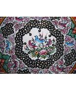 PERSIAN HANDMADE Mina Kari plate Enameled (16 cm) - $49.00