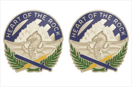 Genuine U.S. Army Crest: 3RD Sustainment Brigade (Heart Of The Rock) - $19.78