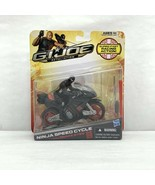 GI Joe Retaliation Ninja Speed Cycle With SNAKE EYES Action Figure NIB - $39.99