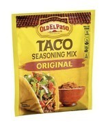 2 packs Old El Paso Taco ORIGINAL Seasoning Mix 1oz per packet - £2.87 GBP