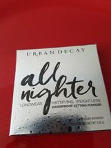 URBAN DECAY All Nighter Waterproof Setting Powder ❤️ 100% Authentic - New in Box - $34.00