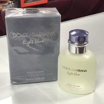 Dolce & Gabbana Light Blue for Men  2.5 fl.oz / 75 ml Eau De Toilette spray - $48.98